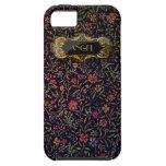 Caso floral del iPhone 5 del vintage elegante iPhone 5 Case-Mate Funda