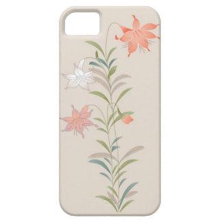 Caso floral del iPhone 5 del vintage elegante iPhone 5 Coberturas