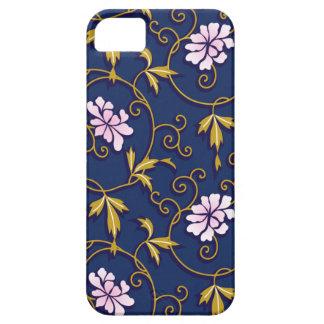 Caso floral del iPhone 5 del vintage iPhone 5 Case-Mate Protectores
