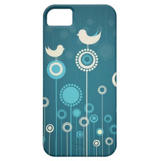 Caso floral del iPhone 5 iPhone 5 Funda