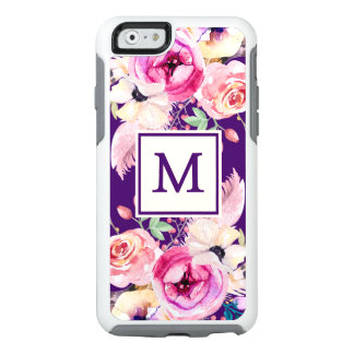 Caso floral del iPhone 6/6s de la nutria del Funda Otterbox Para iPhone 6/6s