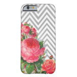 Caso floral del iPhone 6 de Chevron