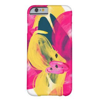 Caso floral del iphone 6 de la acuarela pintada a funda de iPhone 6 barely there