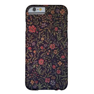 Caso floral del iPhone 6 del vintage elegante Funda De iPhone 6 Barely There