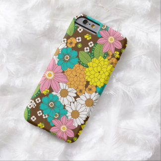 Caso floral del iPhone 6/S de la primavera Funda De iPhone 6 Barely There