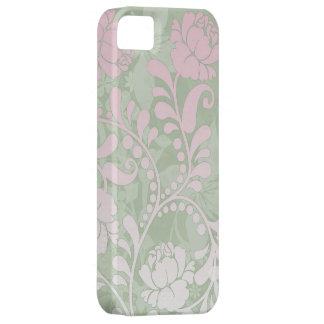 Caso floral del iPhone de la flor de los rosas que iPhone 5 Carcasa