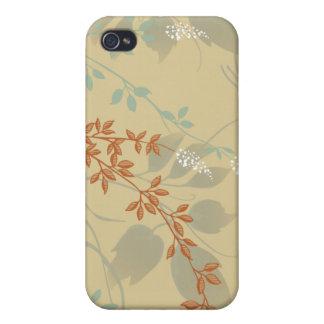 Caso floral del iPhone del collage iPhone 4 Carcasa