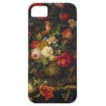 Caso floral del iPhone del florero del vintage ele iPhone 5 Funda