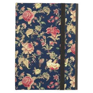 Caso floral del vintage elegante