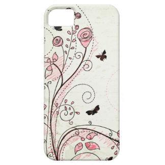Caso floral elegante caprichoso del iphone 5 de lo iPhone 5 Case-Mate cárcasas