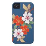 Caso floral elegante de Iphone 4/4S iPhone 4 Case-Mate Cárcasa
