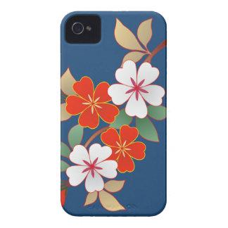 Caso floral elegante de Iphone 4 4S iPhone 4 Case-Mate Cárcasa