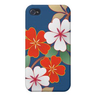 Caso floral elegante de Iphone 4 4S iPhone 4 Cárcasa