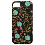 Caso floral elegante del iPhone 5/5S iPhone 5 Case-Mate Carcasa