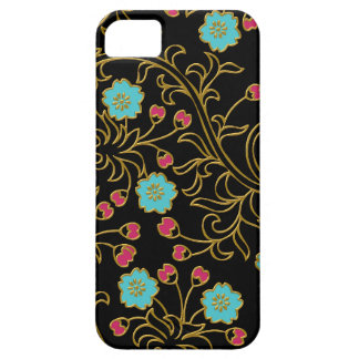 Caso floral elegante del iPhone 5 5S iPhone 5 Case-Mate Carcasa