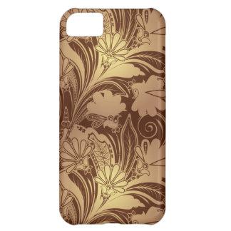 Caso floral elegante del iPhone 5 C de Patern