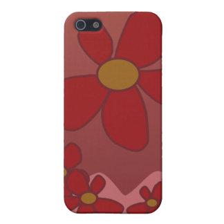 Caso floral estilizado de IPhone iPhone 5 Carcasa