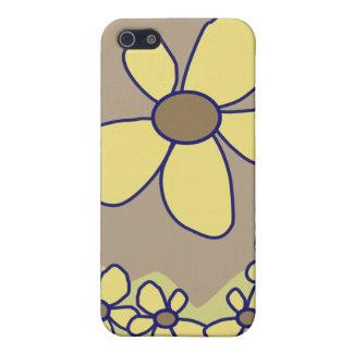 Caso floral estilizado de IPhone iPhone 5 Carcasas