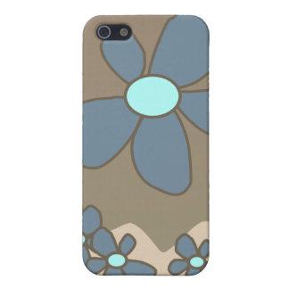 Caso floral estilizado de IPhone iPhone 5 Fundas