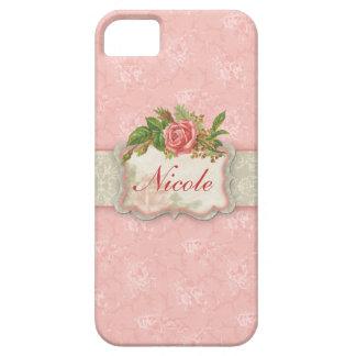 Caso floral femenino del iPhone 5 iPhone 5 Case-Mate Funda