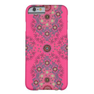 Caso floral femenino del iPhone 6 de las rosas Funda De iPhone 6 Barely There