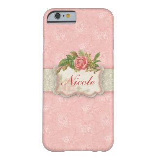 Caso floral femenino del iPhone 6 Funda De iPhone 6 Barely There