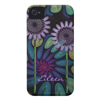 Caso floral fresco del iPhone 4 iPhone 4 Carcasas