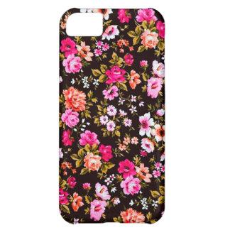 Caso floral funda para iPhone 5C