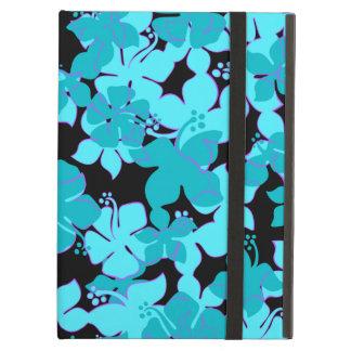 Caso floral hawaiano del iPad del iCase de Hanalei