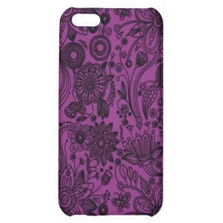 Caso floral iPhone4