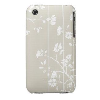 Caso floral japonés del iPhone 3gs Case-Mate iPhone 3 Carcasa