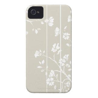 Caso floral japonés del iPhone 4s iPhone 4 Case-Mate Cárcasa