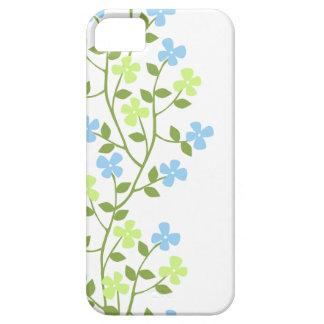 Caso floral moderno delicado del iPhone 5 Funda Para iPhone SE/5/5s