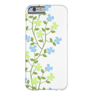 Caso floral moderno delicado del iPhone 6 Funda Barely There iPhone 6