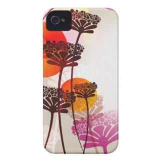 Caso floral retro Case-Mate iPhone 4 carcasa
