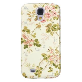 Caso floral subió vintage del iPhone 3 de la flor