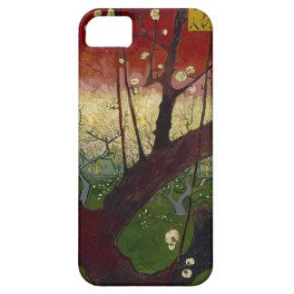 Caso floreciente del iPhone 5 del árbol de ciruelo Funda Para iPhone SE/5/5s