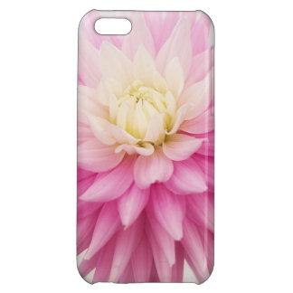 Caso floreciente del iPhone de la flor de la dalia
