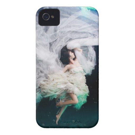 Caso flotante del chica iPhone 4 fundas