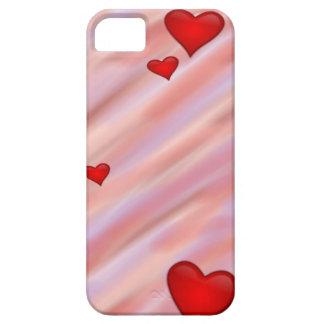 Caso flotante del iPhone 5 de los corazones iPhone 5 Case-Mate Carcasas