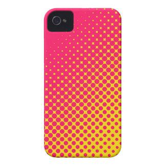 Caso fluorescente del iPhone 4/4S de los puntos de iPhone 4 Case-Mate Protector