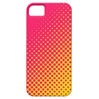 Caso fluorescente del iPhone 5 de los puntos del r iPhone 5 Cárcasas