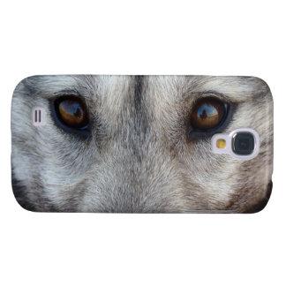 Caso fornido de Smartphone del perro de la caja de Funda Para Galaxy S4