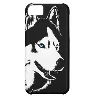 Caso fornido del Malamute del husky siberiano del  Funda Para iPhone 5C