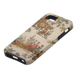 Caso francés del ambiente del iPhone 5 de Toile iPhone 5 Carcasas