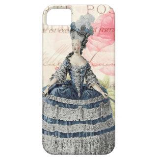 Caso francés del iPhone 5 5S del acento de Marie A iPhone 5 Protectores