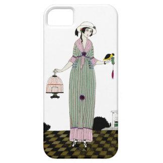 Caso francés del iPhone 5 de la placa de moda del  iPhone 5 Protectores