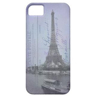 Caso francés del iPhone 5 de la postal de la feria iPhone 5 Funda