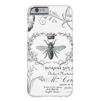 Caso francés del iPhone 6 de la abeja reina del Funda Para iPhone 6 Barely There