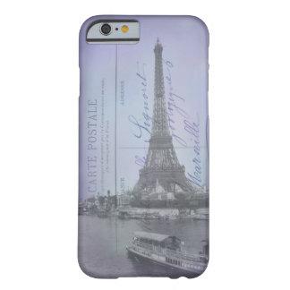 Caso francés del iPhone 6 de la postal de la feria Funda De iPhone 6 Slim